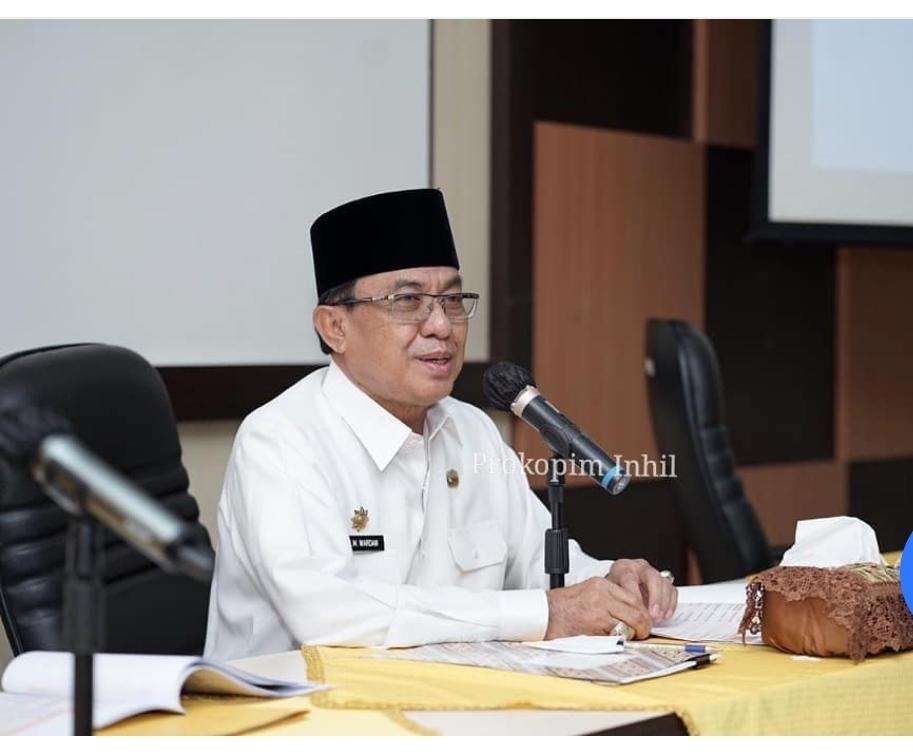 Bupati HM.Wardan Pimpin Rapat IGA dan Sosialisasi Pengelolaan Zakat.