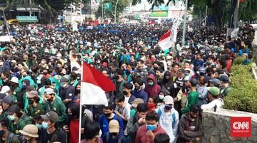 Ribuan Buruh dan Mahasiswa Akan Demo di Istana Besok