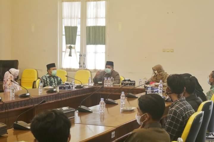 Audiensi Dan Silaturahmi Pemkab Siak Bersama Institut Agama Islam Tazkia Bogor.