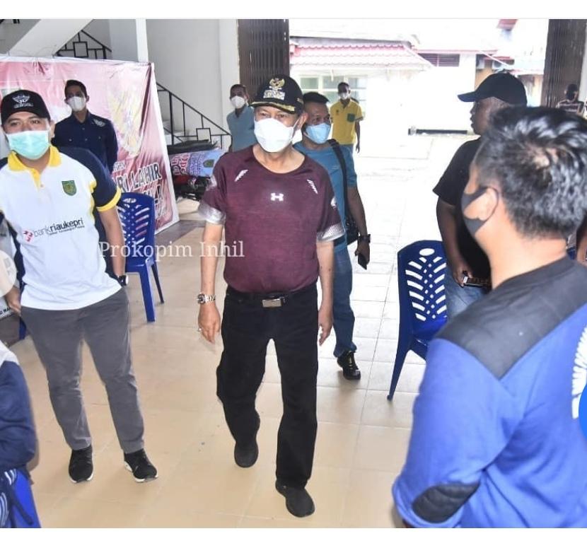 Kantor Satpol-PP Mendadak Di Kunjungi Wabup Syamsuddin Uti.