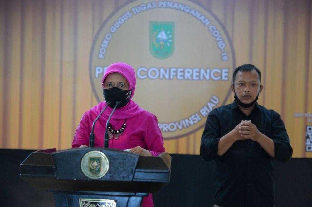 Riau Bertambah 236 Kasus Konfirmasi, Pasien Covid-19 Sembuh 155 Orang
