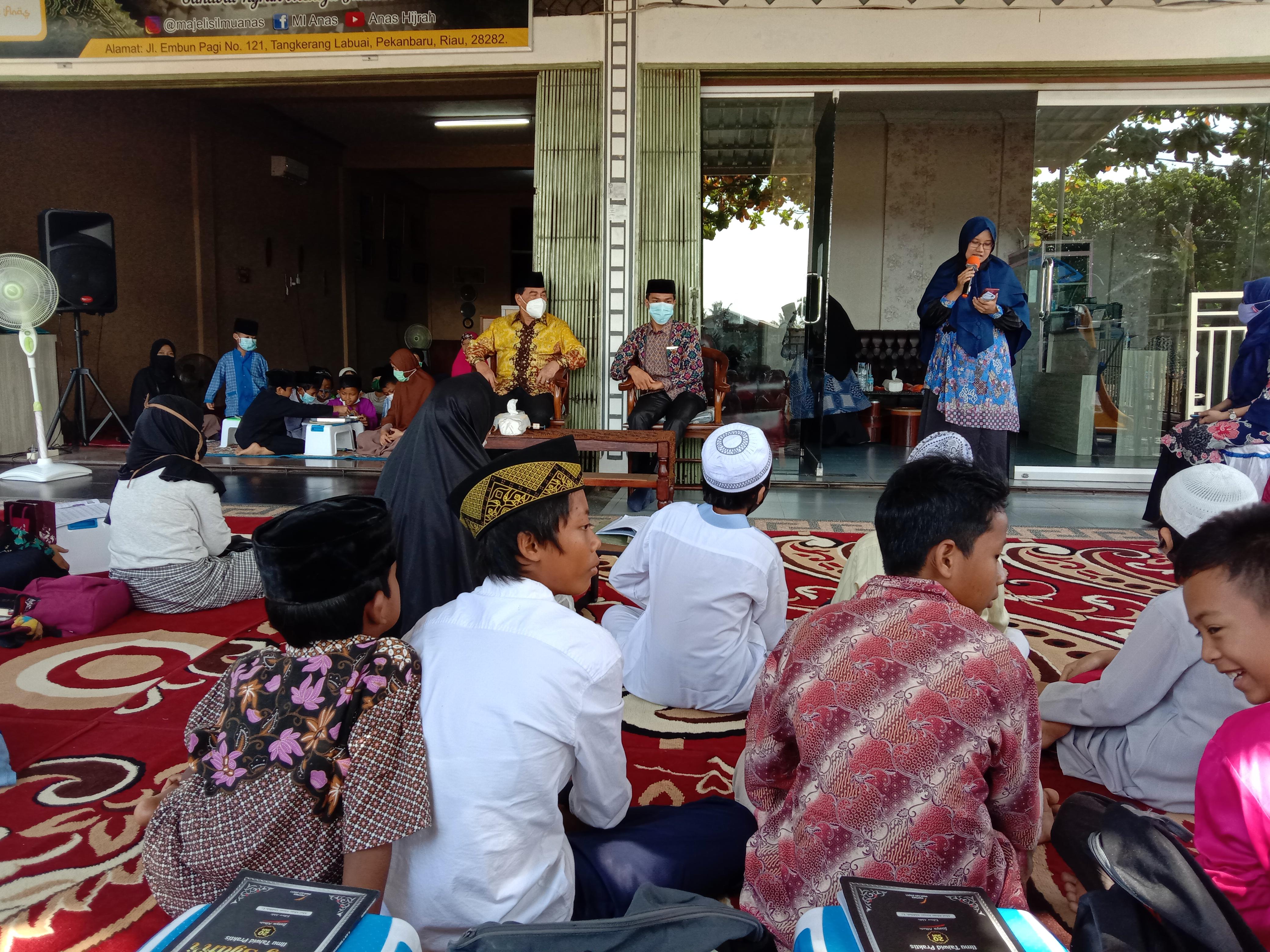 Majelis Ilmu Anas Kedatangan Tamu Anggota DPR RI Achmad