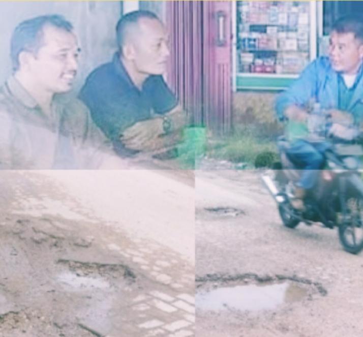 Aktifis Pemuda Dan Lsm Penjara Siak Minta Pemda Siak Serius Atasi Kerusakan Jalan Pertiwi - Bunut