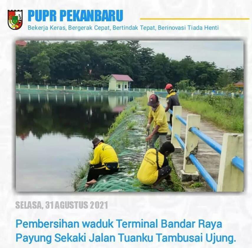Cegah Banjir, Dinas PUPR Lakukan Pemeliharaan Waduk