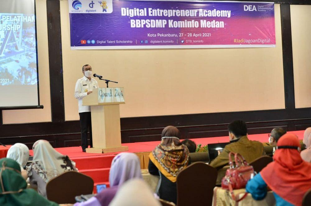 Gubri Syamsuar Buka Pelatihan Digital Enterpreneurship Academy