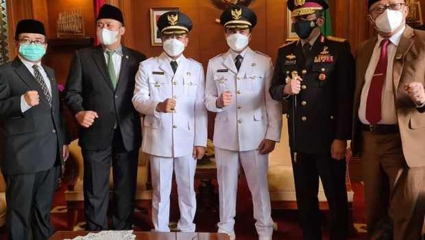 Sahrul Gunawan Resmi Dilantik Jadi Wakil Bupati Bandung
