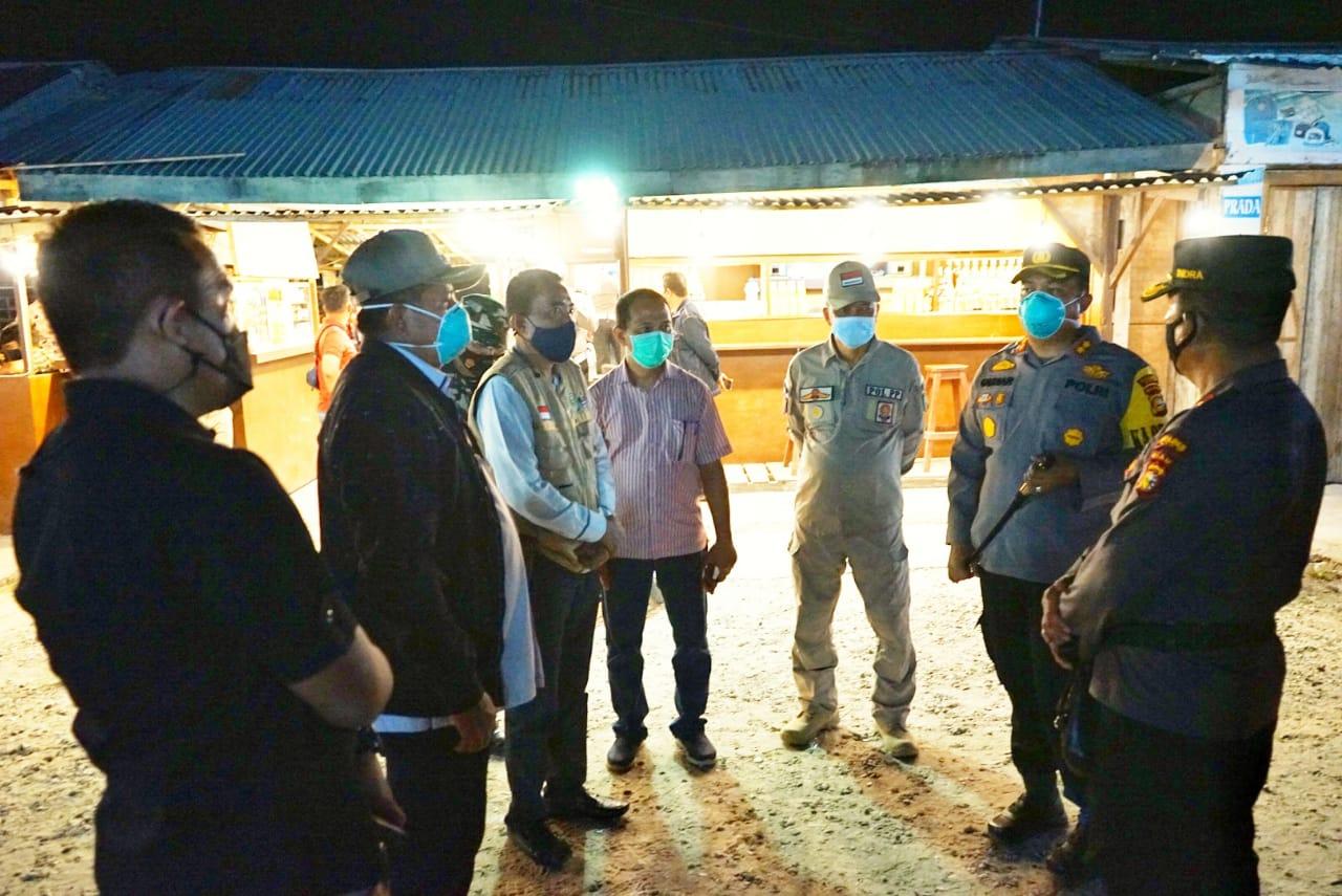 Gugus Tugas Gelar Operasi Yustisi Prokes di Kandis, 40 Pengunjung Cafe Jalani Rapid Test