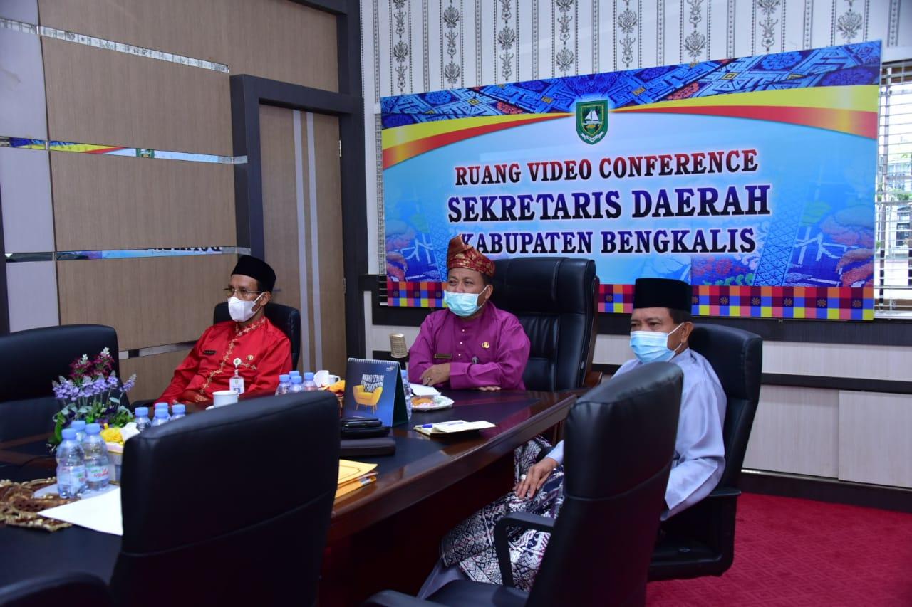 Pemkab Bengkalis Apresiasi Gerakan Riau Berwakaf