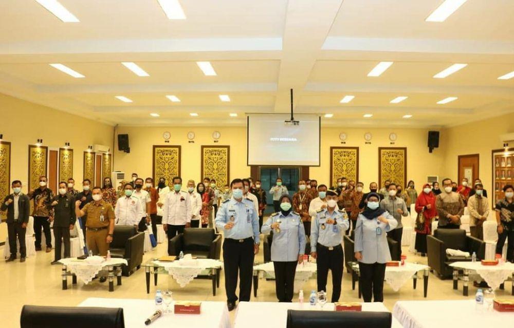 Kanwil Kemenkum Ham Riau Publikasikan Akreditasi Pemberi Bantuan Hukum