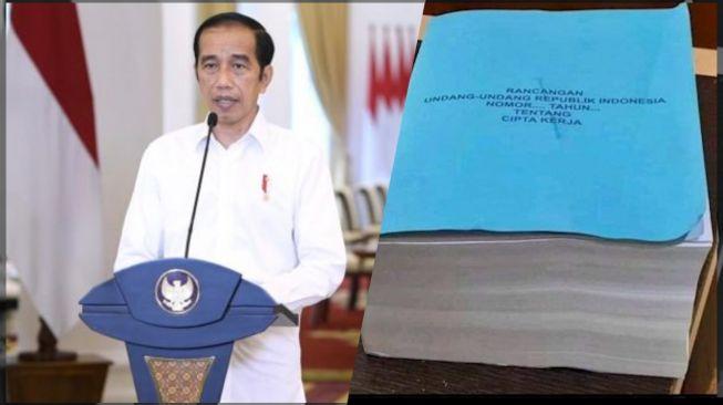 Diksi Cacat di UU Ciptaker Tuai Protes, Jokowi Didesak Terbitkan Perppu