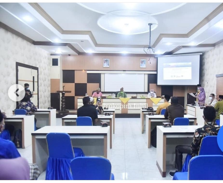 Jaga dan Lestarikan Kawasan Gambut, Wakil Bupati H.Syamsuddin Uti Buka Rakoor SMPEI TH 2021.
