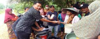 Melalui Dana Desa, Pemdes Gunung Kesiangan Dukung Gerakan Riau Bertani 2021