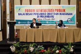 Tingkatkan Mutu Pelayanan, BPOM Gelar Forum Komunikasi Publik Bersama Instansi Terkait dan UMKM