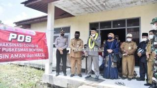 Wabup H.Syamsuddin Uti Lantik Anggota BPD 5 Desa Kec Sungai Batang