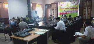 Bupati Mursini Pimpin Rapat Kesiapan Pelaksanaan Sholat Idul Fitri 144I H Bersama FKUB