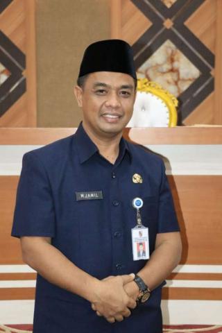 M. Jamil Jabat Plt. Sekda Kota Pekanbaru