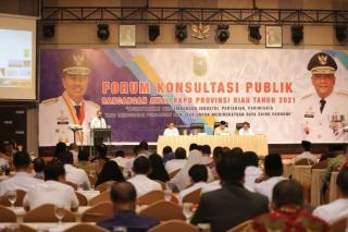 Pemprov Riau Gelar Forum Konsultasi Publik RKPD 2021