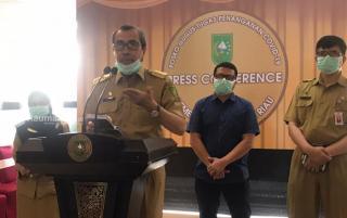 Pemprov Riau Susun Rencana  Penerapan PSBB