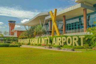 Larangan Mudik, Bandara SSK II Pekanbaru Baru Melayani Satu Penerbangan