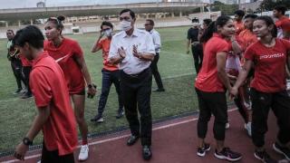 Pesan Luhut Saat Lepas Lalu Muhammad Zohri ke Olimpiade Tokyo