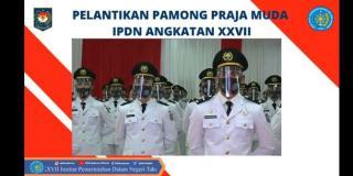 Jokowi Minta Praja IPDN Jaga Integritas dan Loyalitas
