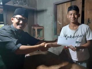 Berbagi Kebahagiaan Bersama Syafril Ketua Fraksi PKS Kuansing