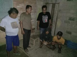 Terkait Narkoba, Dua Orang Warga Desa Langsat Hulu Diciduk Polres Kuansing