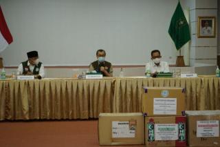 Pemprov Riau Kembali Terima 100 Ribu Masker dari PT RAPP