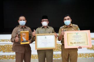 Kecamatan Lubuk Dalam, menjadi Kecamatan terbaik di Provinsi Riau.