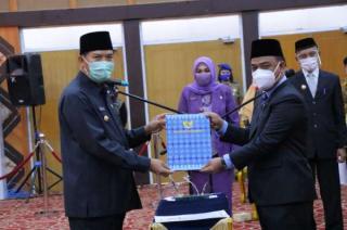 Walikota Resmi Lantik Muhammad Jamil Sebagai Sekda Kota Pekanbaru