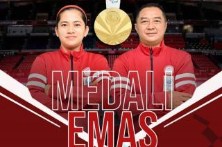 Leani Ratri - Hary Persembahkan Emas Kedua untuk Indonesia di Paralimpiade Tokyo
