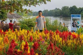 Objek Wisata Taman Bunga Okura Sudah Dibuka dengan Prokes Ketat