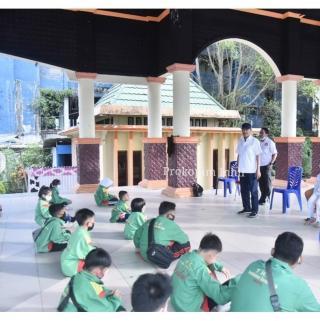 Wabup H.Syamsuddin Uti Lepas 27 Atlet TKC Inhil Ikuti Kejurda di Kota Duri