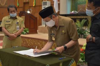 Pemprov Riau Ajukan KUA–PPAS Perubahan APBD Tahun Anggaran 2020