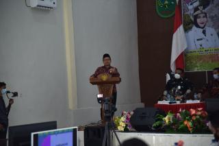 Ketua DPRD Bengkalis Khairul Uman dan Bupati Kasmarni Hadiri Musrembang Kecamatan Rupat-Utara