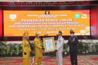 6.160 Napi di Riau Dapatkan Remisi HUT RI, 94 Langsung Bebas