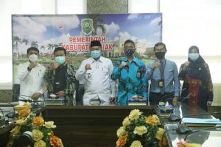Optimalkan Pemungutan Pajak Pusat dan Daerah, Pemkab Siak lakukan kerjasama dengan DJP dan DJPK.