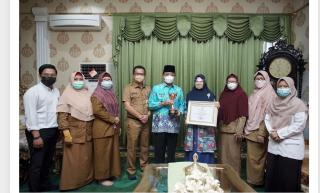 Bupati Inhil Terima Penghargaan Anugerah Parahita Ekapraya