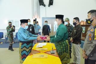 Pj Bupati Serahkan DPA SKPD, Kegiatan APBD Bengkalis 2021 Sudah Bisa Dilaksanakan