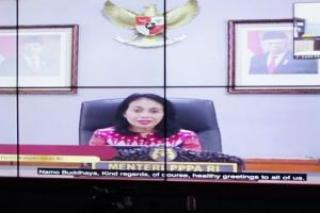 Pemprov Riau Raih Penghargaan APE 2020, Ini Pesan Menteri PPPA