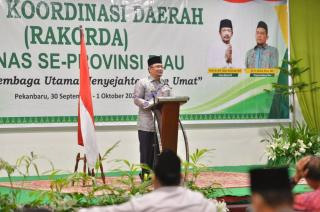Pemprov Riau Dukung Baznas Riau dalam Meningkatkan Zakat