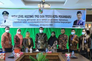 Kota Pekanbaru Raih TPID Award tahun 2020