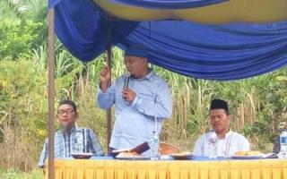 Syamsurizal Ajak Awasi Proyek di Sungai Apit dan Pusako