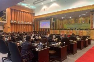 Melalui Paripurna,BK Bacakan Putusan Nasib Ketua DPRD Pekanbaru Hamdani