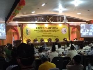 DPRD Gelar Rapat Paripuna Hari Jadi Kab.Kuansing ke 22,Adam Berharap Kuansing Lebih Maju dan Berkem