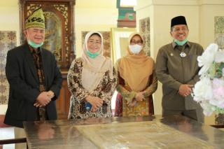 Bupati Siak Alfedri Sambut Kunjungan Wakil Gubernur Sumbar Nasrul Abit
