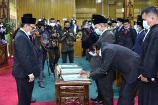 3 PAW Anggota DPRD Bengkalis  Resmi Dilantik