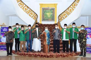 Bupati Kasmarni Terima Audiensi GP Ansor Kabupaten Bengkalis