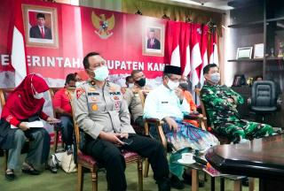 Bupati Kampar Bersama Gubri Vidcon Tindak Lanjut Arahan Presiden RI
