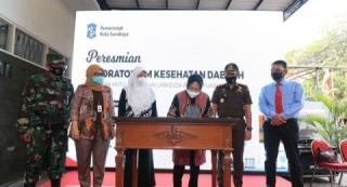 Serius Tangani Covid-19, Warga Surabaya Bisa Tes Swab Gratis di Labsekda